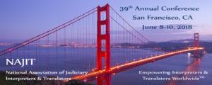 NAJIT 39th Conference spread