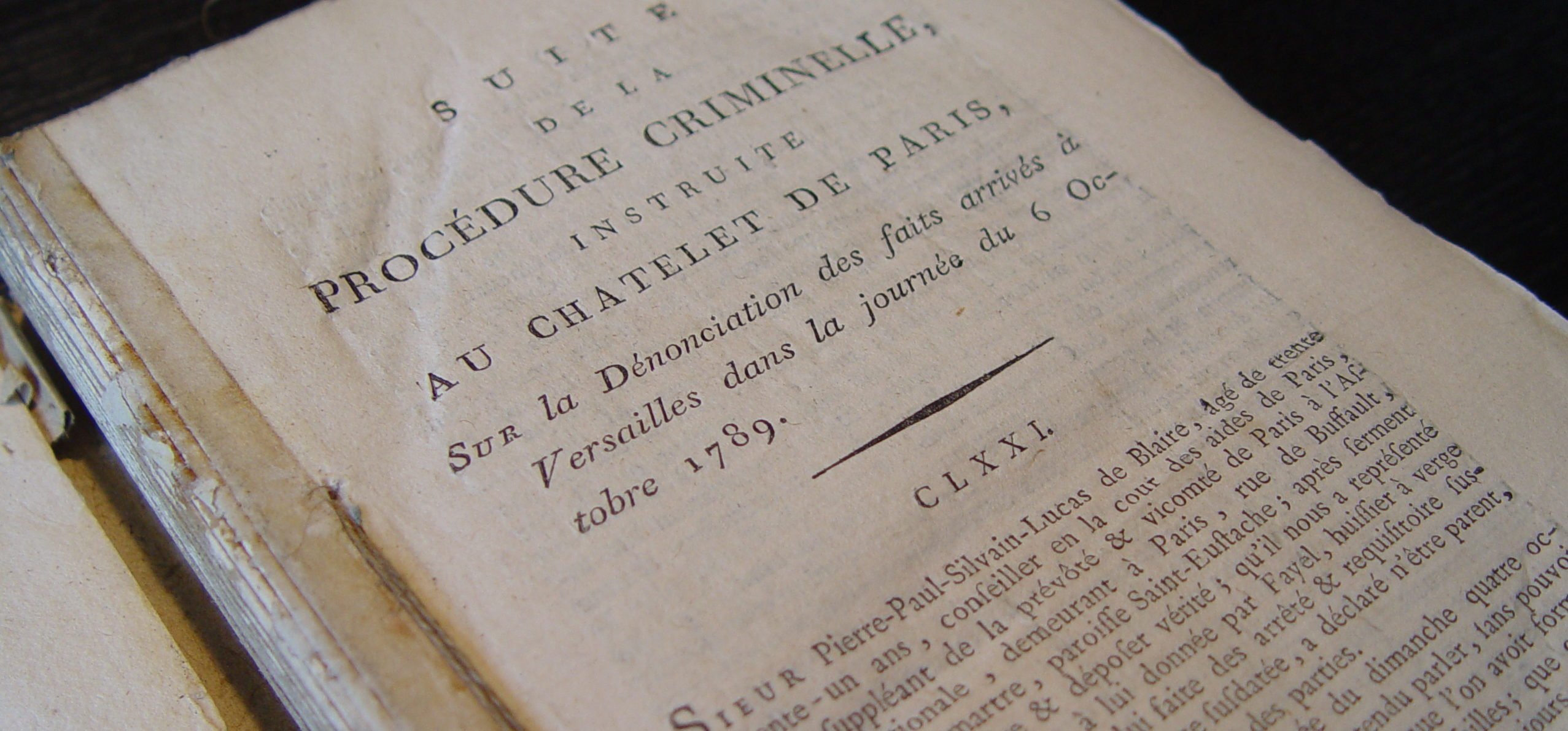 legal text in French