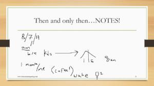 Athena's notes