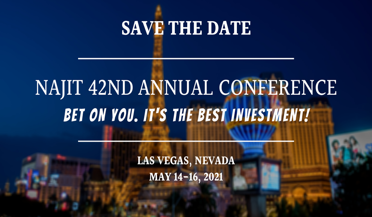 Save the date NAJIT 42nd Annual Conference sq